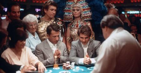 Dustin Hoffman and Tom Cruise in 'Rain Man' - 1988