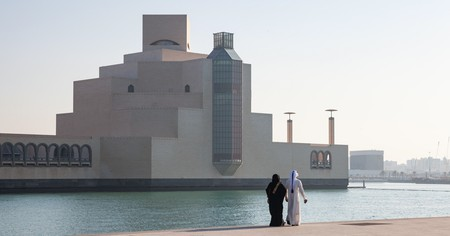 The Museum of Islamic Art features art from three continents