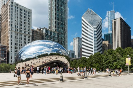 A visit to Chicago wouldn't be complete without a visit to the Bean