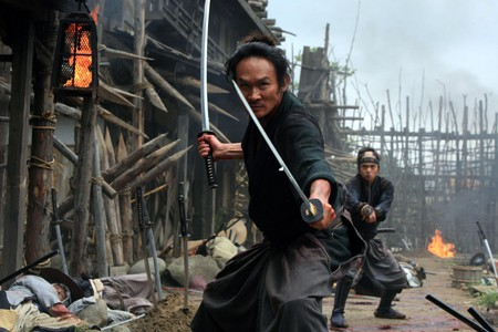 '13 Assassins' (2010) encompasses historical drama and bloody battle