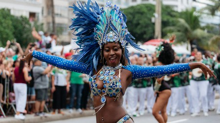The costumes at Rio Carnival are nothing short of spectacular