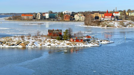 The archipelago of Helsinki in Finland consists of around 330 islands
