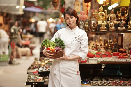 Hong Kong therapeutic chef Vivi Cheung
