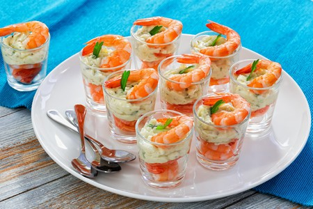The shrimp cocktail is a classic dish with Las Vegas origins.