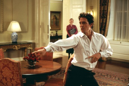 Hugh Grant as the Prime Minister in Love Actually (2003)
