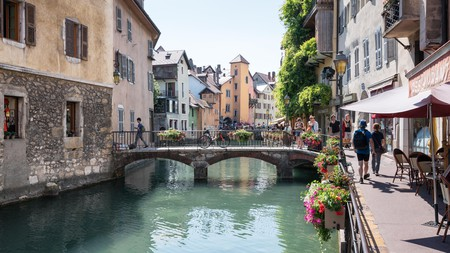 Annecy, also known as 'the Venice of the Alps', is a picturesque town offering many things to do