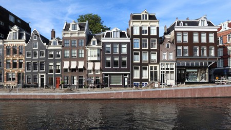 Take time to admire Amsterdam's striking canal houses
