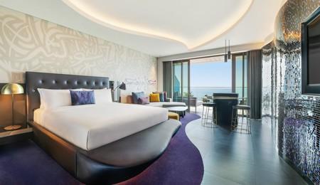 the W Dubai, UAE.