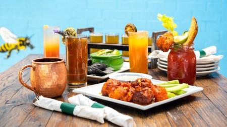 VegeNation food and drinks