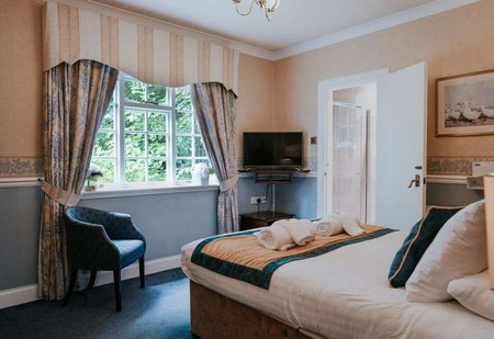 Double room at The Edinburgh Lodge