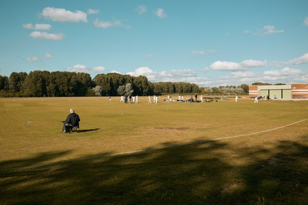 Hackney Marshes is one of Glyn Fussell's favourite spots in London
