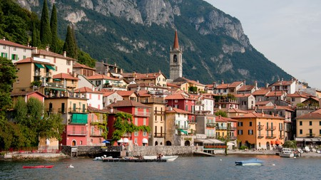 Varenna on the eastern side of Lake Como, Italy, which has some great hotels in the towns and villages along the shore