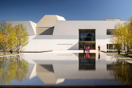 Fumihiko Maki designed the Aga Khan Museum in Toronto