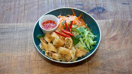 The bun cha gio is one delicious option at GōN Vietnamese in Edinburgh