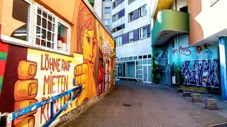 Graffiti in Kreuzberg, Berlin