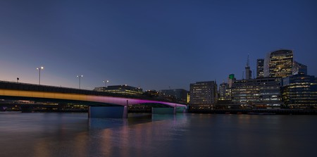 London's bridges are set to become illuminated works of art