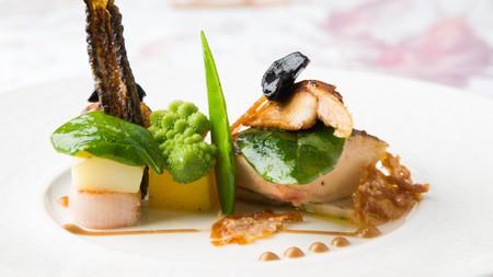 The food at 21212 resembles art