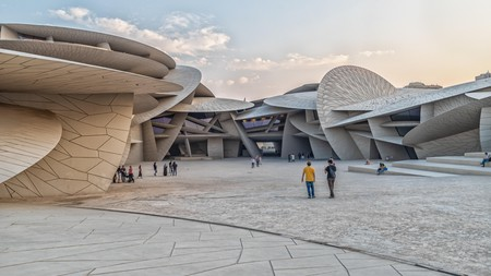 The National Museum of Qatar is a stunning addition to the architectural landscape in Doha