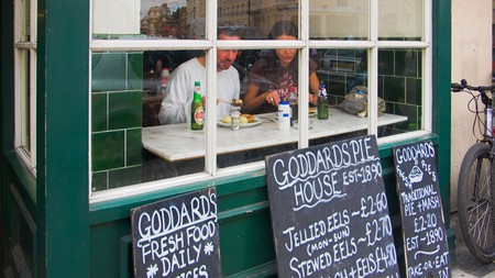 Goddards at Greenwich specialises in proper London grub