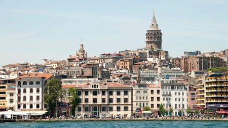 The Galata Tower, Istanbul, Turkey