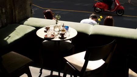 Café Luzia is located on Kreuzberg's lively Oranienstraße