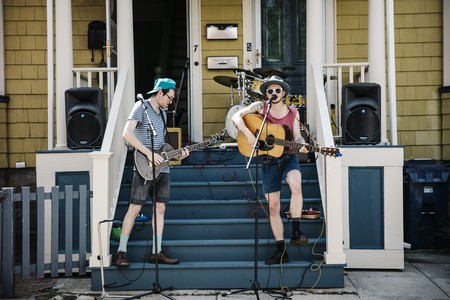 The first Porchfest in Jamaica Plain took place in 2014