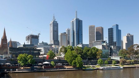 The best Airbnbs in Melbourne include an apartment with views of the Yarra River