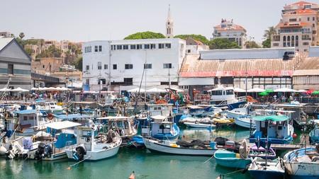 Harbour in Jaffa, Tel Aviv