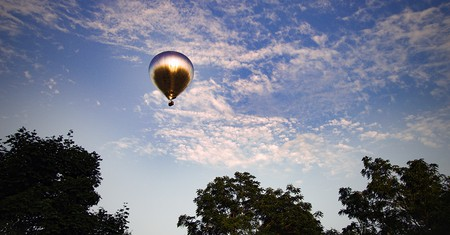 Aitken's balloon adds a touch of whimsy to the skies