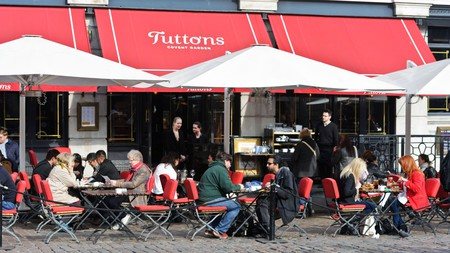 Tuttons Covent Garden offers a two- or three-course pre-theatre menu