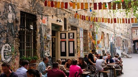 Café Cinema is an atmospheric spot for a beer