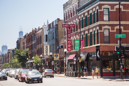The trendy Wicker Park neighborhood in Chicago has a fascinating history