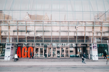 The AGO is one of the largest art galleries in North America