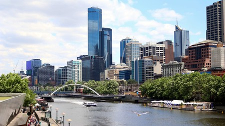 The Melbourne skyline has a modern appearance but the streets below offer something special for filmmakers from all over the world