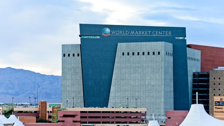 The World Market Center lies in the heart of Las Vegas