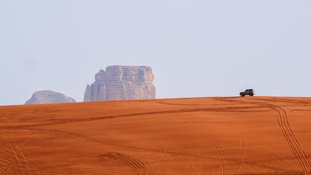 The Red Sands are a popular desert escape for Riyadhians