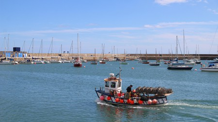 Howth is a short 25-minute train ride from Dublin