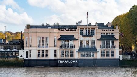 The Trafalgar Tavern is a local institution