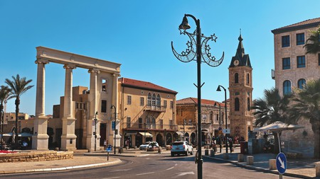 The Jaffa Clock Tower is over 100 years old