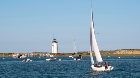 Edgartown, located on Martha's Vineyard, is a short trip from Boston