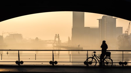 It's easy to explore Berlin by bike