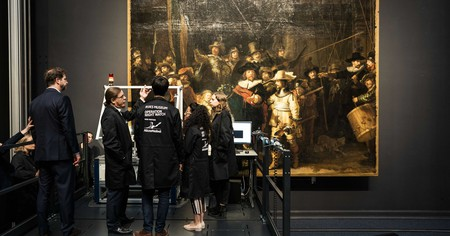 The project of restoring 'The Night Watch' begins