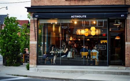 Exterior of Actinolite