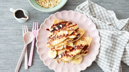 Sweet crêpes make for a delicious dessert
