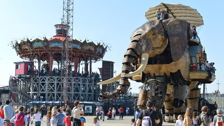 Les Machines de l'île brings the stories of Jules Verne to life in Nantes