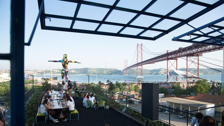 Take in picturesque views with a drink in hand at Rio Maravilha