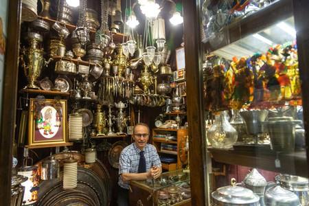 Murat Bilir is the proprietor of L'Orient Handicrafts in the Grand Bazaar