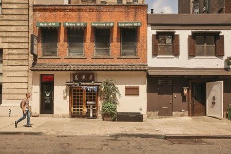 Sobaya is located in the East Village's Little Tokyo
