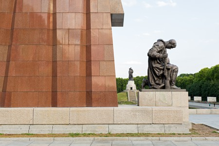 The Soviet War Memorial in Berlin's Treptower Park opened four years after World War II, in May 1949