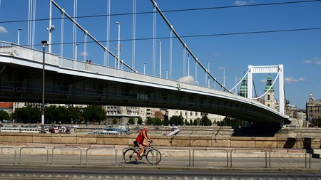 With plentiful bike lanes, Budapest is a relatively bike-friendly city